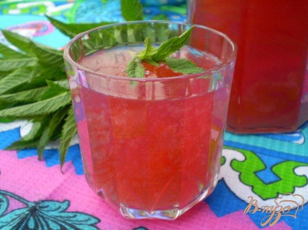 Рецепт Ягодный лимонад с каркаде