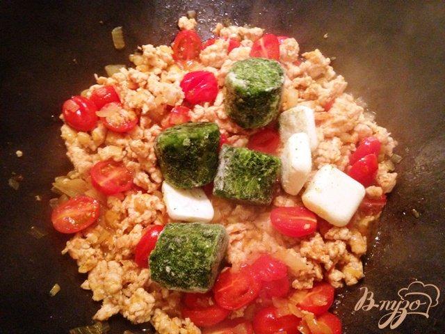 Фото приготовление рецепта: Паста  аля Болоньезе шаг №6