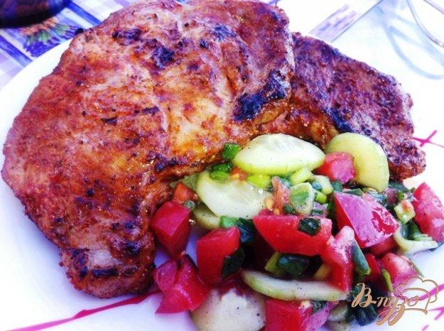 Рецепт Запеченное мясо порционно