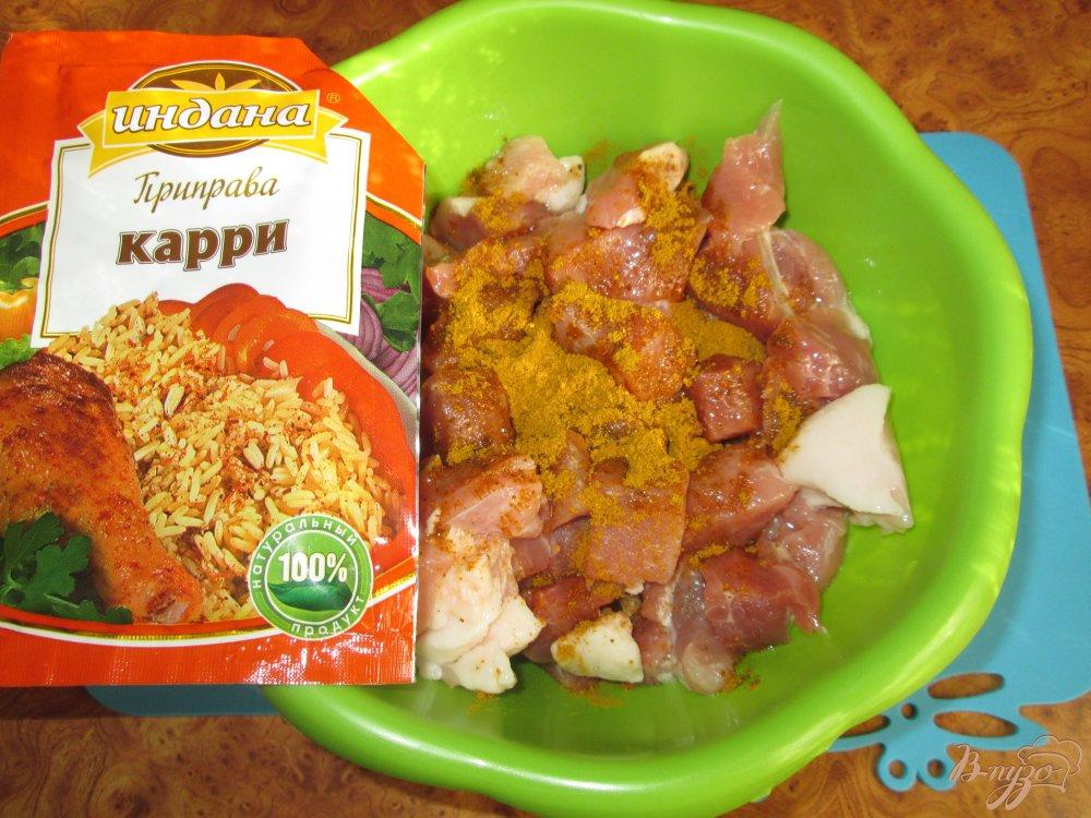 Фото приготовление рецепта: Свинина в соевом соусе шаг №3