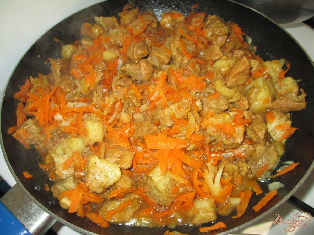 Фото приготовление рецепта: Свинина в соевом соусе шаг №9