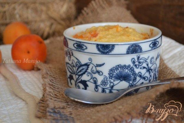 Рецепт Рисовый пудинг с абрикосами