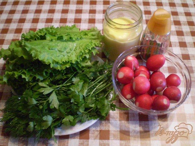 Фото приготовление рецепта: Овощной салат к мясу шаг №1
