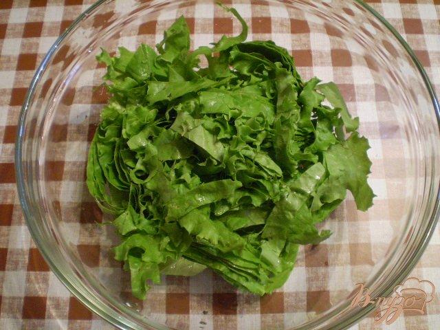Фото приготовление рецепта: Овощной салат к мясу шаг №2
