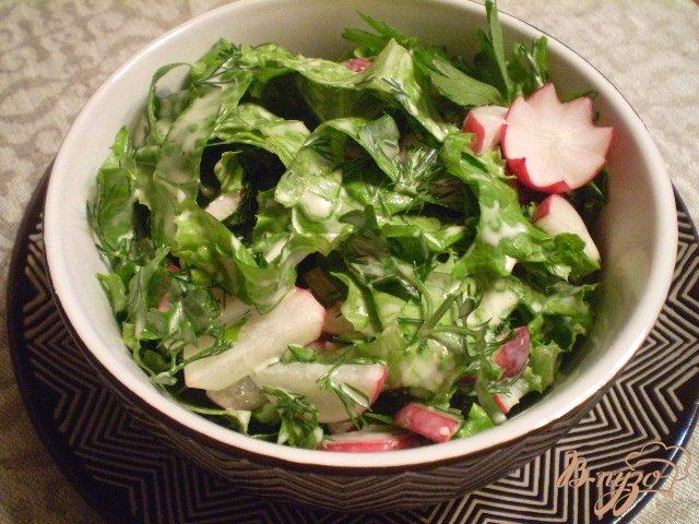 Фото приготовление рецепта: Овощной салат к мясу шаг №6