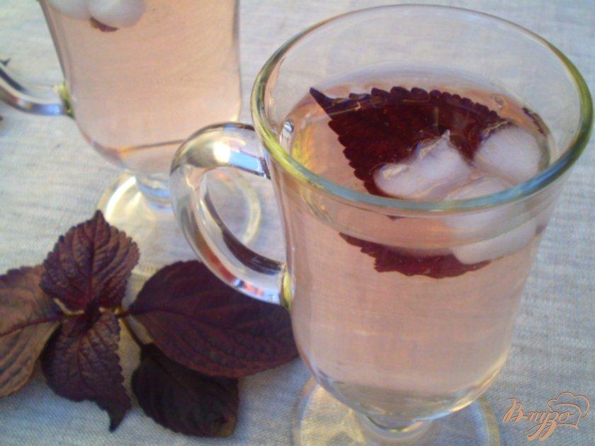 Фото приготовление рецепта: Лимонад из базилика шаг №7
