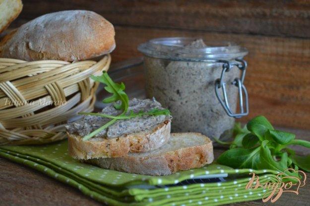 Рецепт Бутербродная паста с грибами