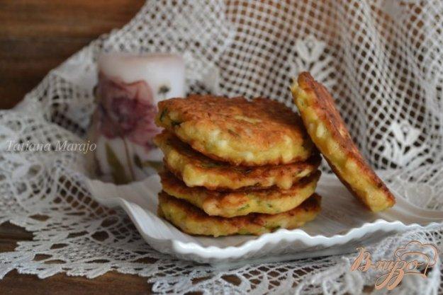Рецепт Оладьи с копченой курятиной и яйцом