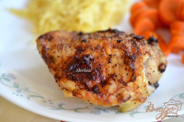 Рецепт Куриные бедрышки с чили соусом и медом