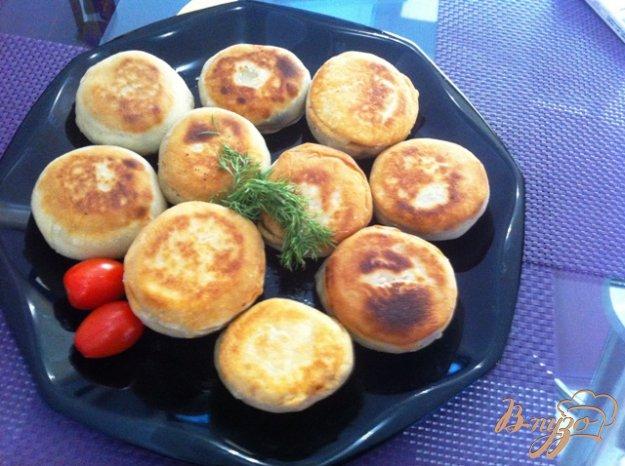 Рецепт Пирожки с фетой, помидорами и шпинатом