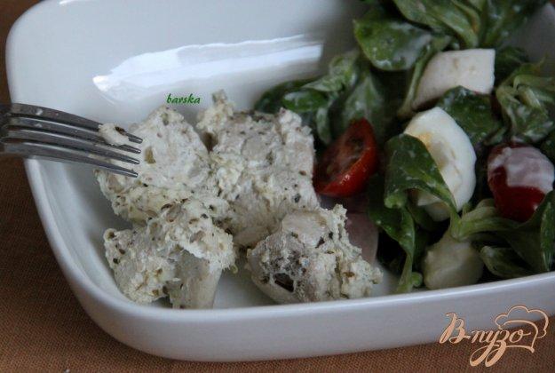 Рецепт Куриные грудки в кефире, запечённые в СВЧ