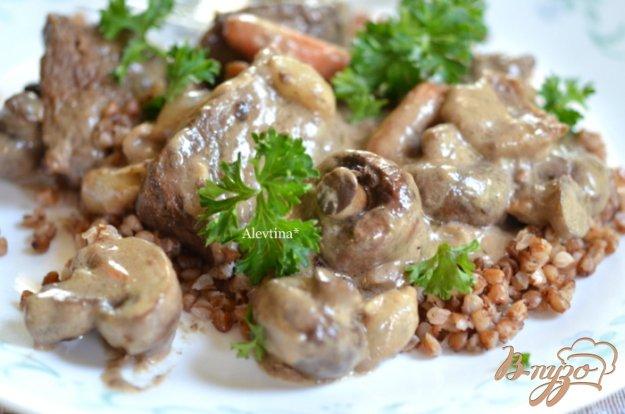 Рецепт Телятина по -французски -Blanquette de Veau