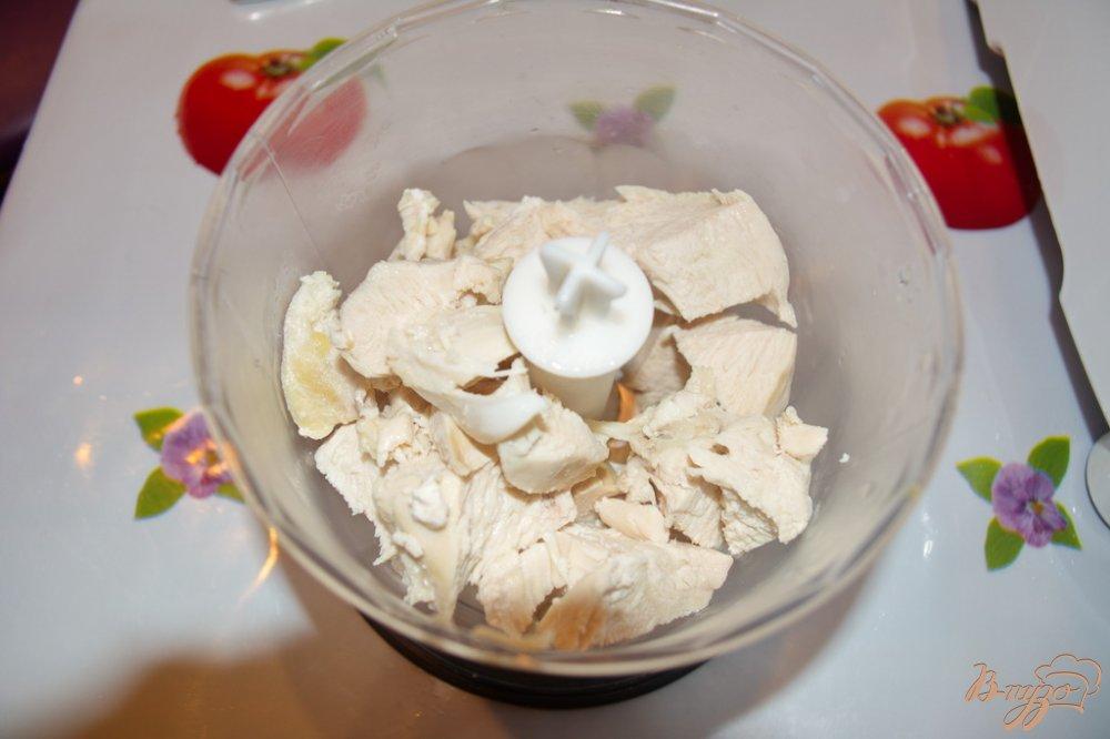 Фото приготовление рецепта: Картофельные вареники с курицей шаг №7