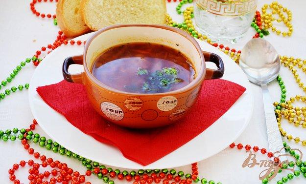 Рецепт Борщик с черносливом и без томата