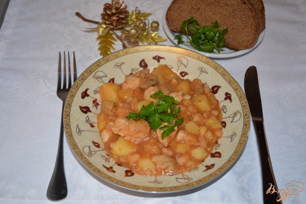 Фото приготовление рецепта: Чанахи на Украинский манер шаг №7
