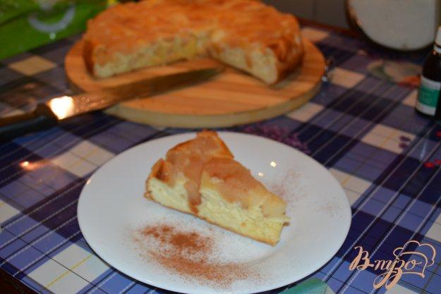Рецепт Нежная Шарлотка на бисквите