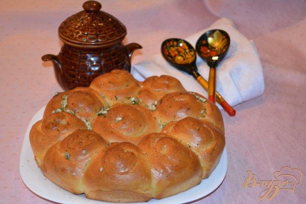 Рецепт Большая пампушка к обеду