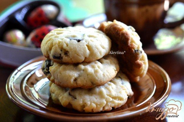 Рецепт Печенье со сливой