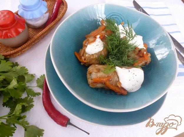 Рецепт Голубцы с перловкой и грибами