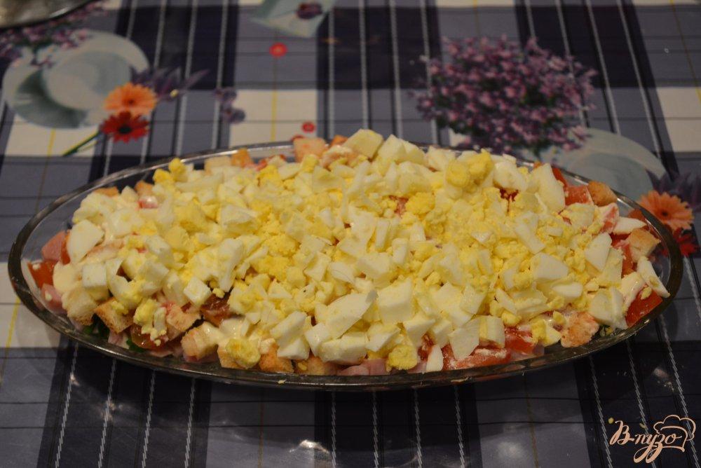 Фото приготовление рецепта: Салатус аппетитус зверсус шаг №5