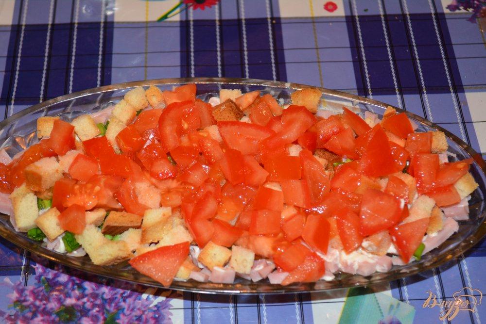 Фото приготовление рецепта: Салатус аппетитус зверсус шаг №4
