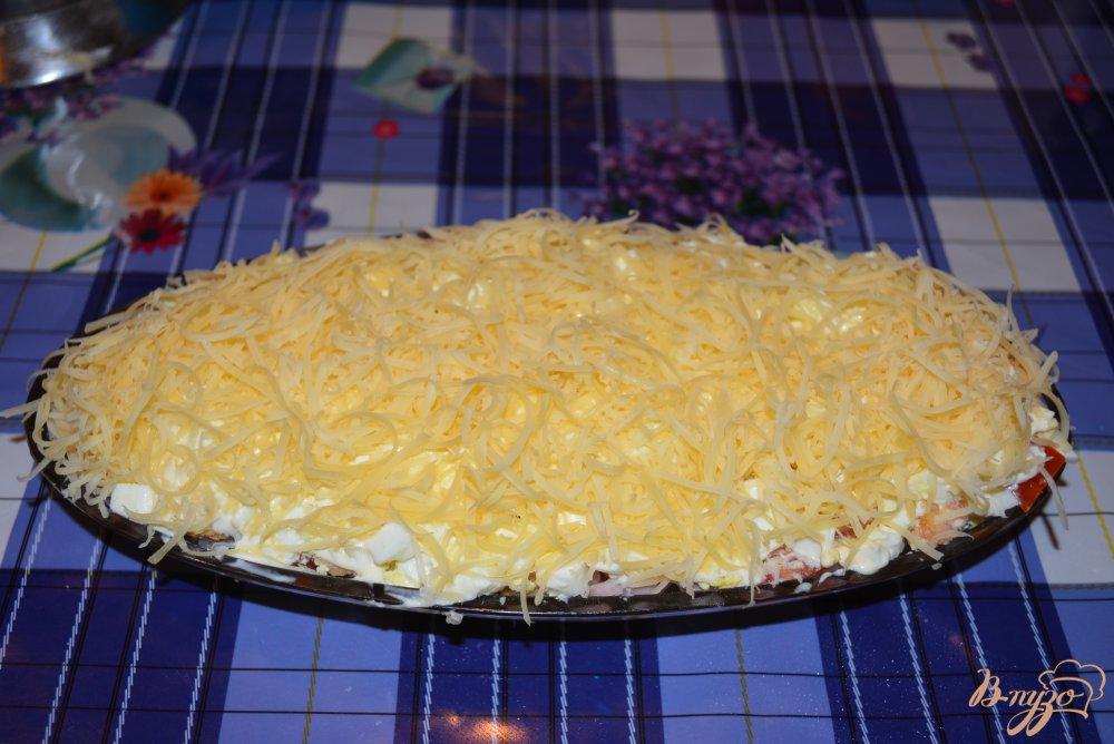 Фото приготовление рецепта: Салатус аппетитус зверсус шаг №6