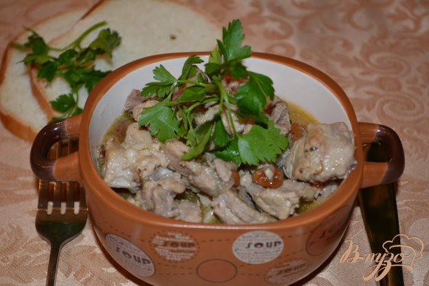 Рецепт Свинина с изюмом