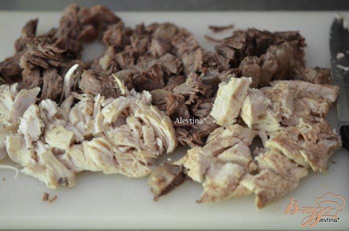 Фото приготовление рецепта: Борщ со сладким  перцем шаг №2