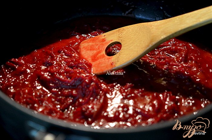 Фото приготовление рецепта: Борщ со сладким  перцем шаг №3