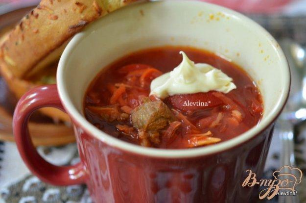 Рецепт Борщ со сладким перцем