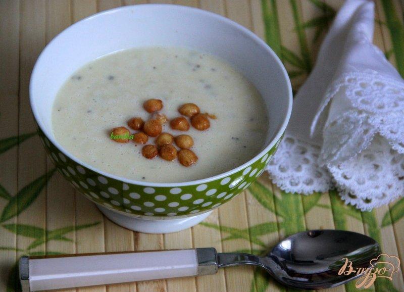 Фото приготовление рецепта: Бархатный  суп-пюре из цуккини шаг №9