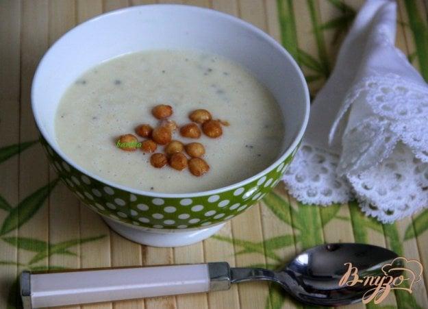 фото рецепта: Бархатный  суп-пюре из цуккини