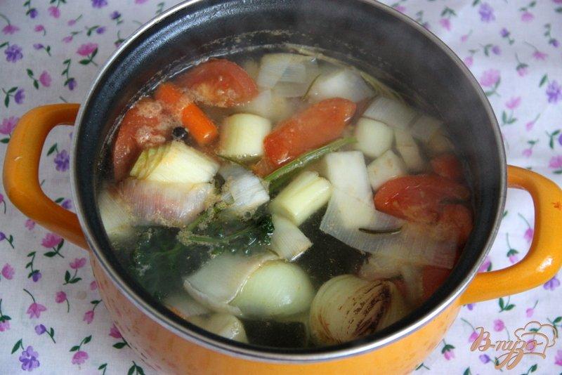 Фото приготовление рецепта: Бархатный  суп-пюре из цуккини шаг №1