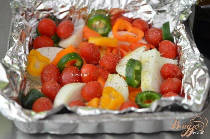 Фото приготовление рецепта: Пряный стейк с томатной сальсой шаг №1