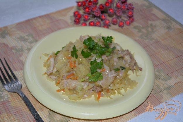 фото рецепта: Капуста тушеная с мясом