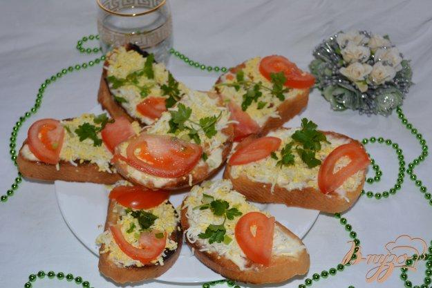 Рецепт Тосты с яйцом и помидором