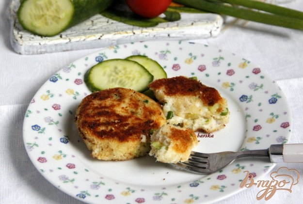 фото рецепта: Картофельно-рыбные котлетки