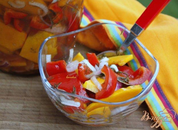 Рецепт Закусочный салат из маринованных овощей
