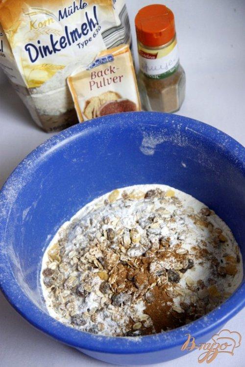 Апфельброт Apfelbrot - яблочный хлеб на  полбовой муке