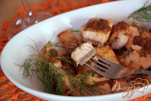 Рыба под соусом мохо/mojo
