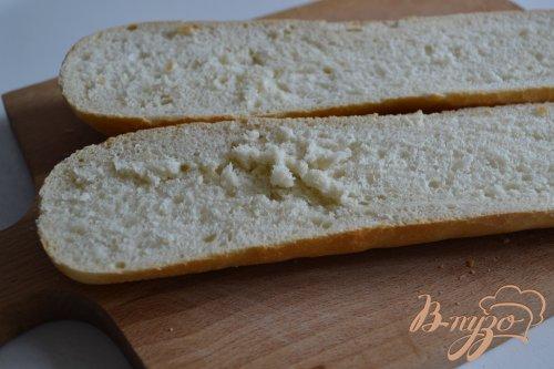 """Горячий сендвич почти """"Маргарита"""""""