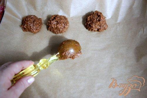 Шоколадно-морковное постное печенье