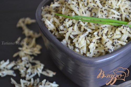 Рисовый гарнир с маком