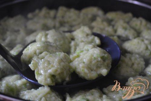 Горохово-картофельные клецки
