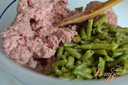 Картофельно-дрожжевые пышки с мясной начинкой