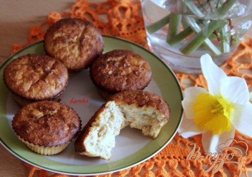 Кексики с овсянкой, творогом и абрикосовым джемом