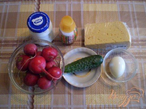 Закуска из редиса