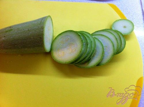 Салат из кабачков и творога