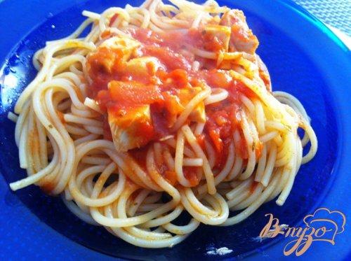 Спагетти  Неаполитано