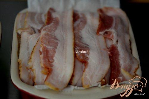 Террин с куриной печенью и свиным фаршем